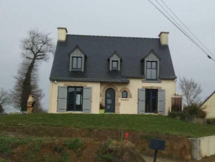 Extension- rénovation maison : agrandissement cuisine de 10 m² face-avant-travaux-extension3-1024x768