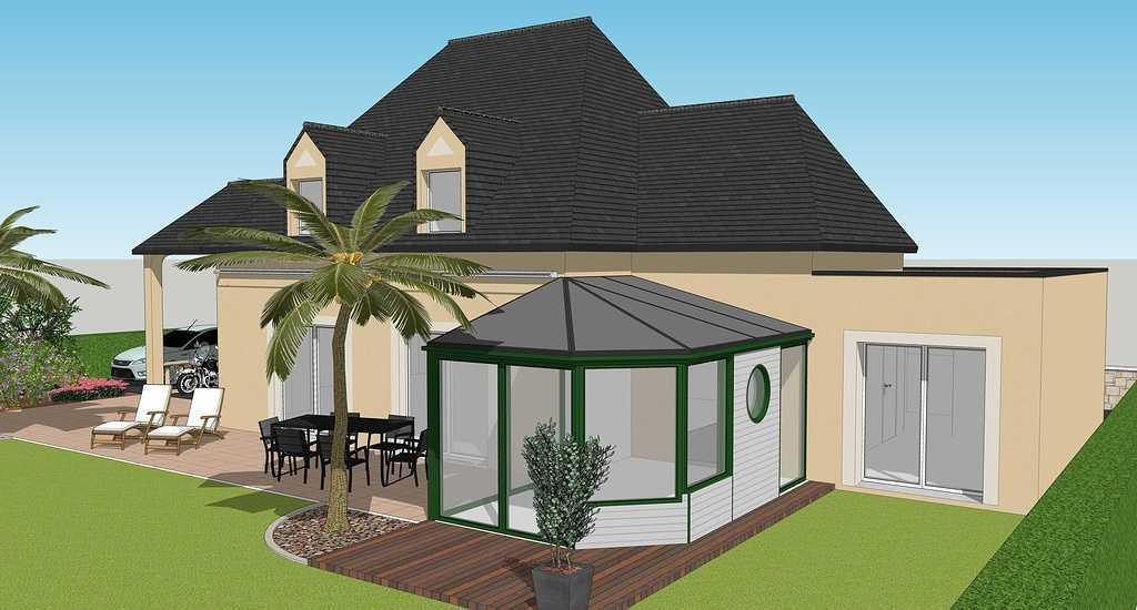 Extension maison : chambre et salle de bain - 24 m2 visuel2