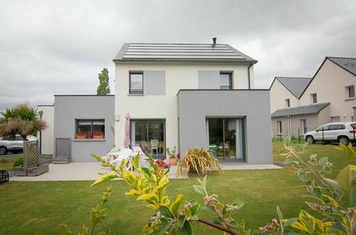 Construction d''une maison à énergie positive / Pléneuf-Val-André (22)