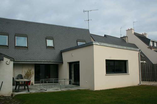 Extension maison : agrandissement salon de 22m²