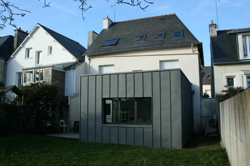 Extension maison : agrandissement du salon de 24 m²