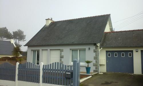 Extension et rénovation d''une maison - Séjour, chambres - 45m²