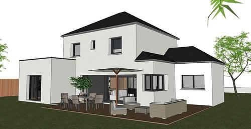 Maison contemporaine - Tremeven (22)
