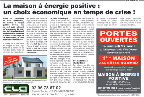 La maison à énergie positive : un choix économique en temps de crise !