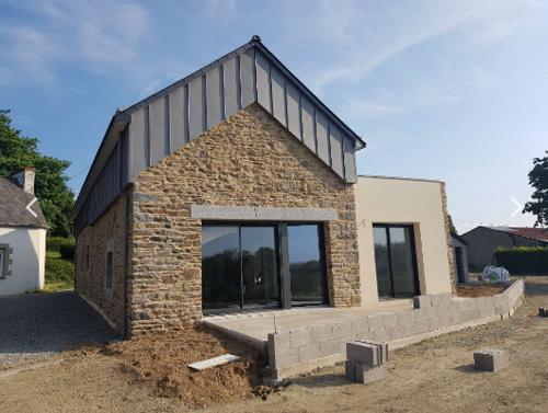 Rénovation - Extension grange pierre