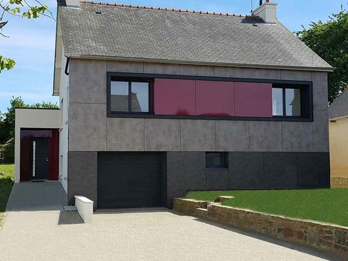 Rénovation - Extension maison néo-bretonne -