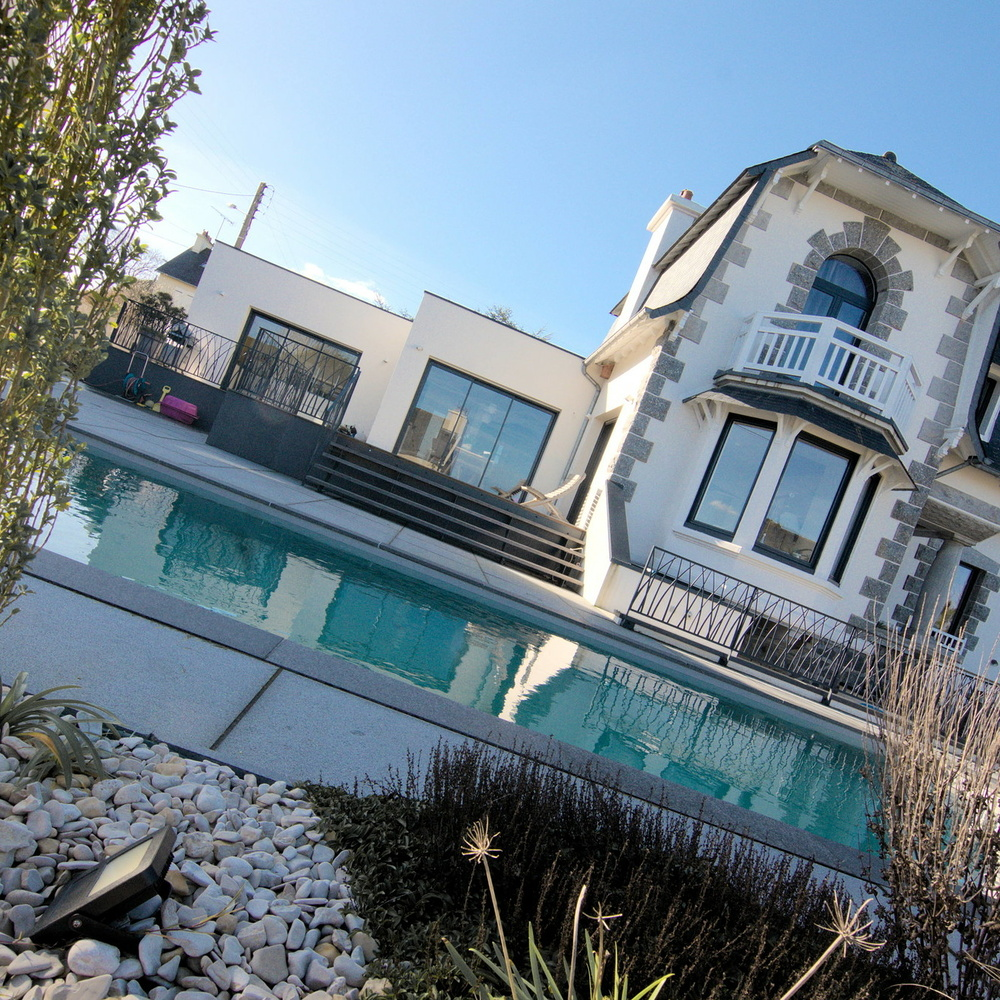 Rénovation d''une maison et création d''une piscine - Binic (22)