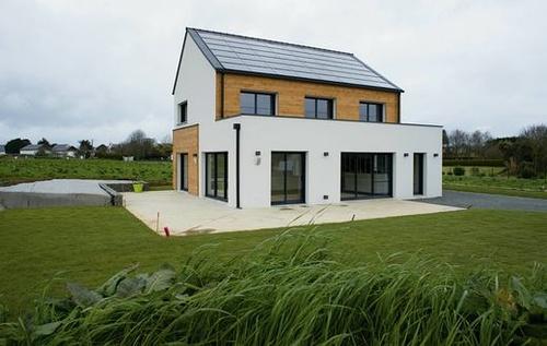 Une maison à énergie positive avec confort domotique
