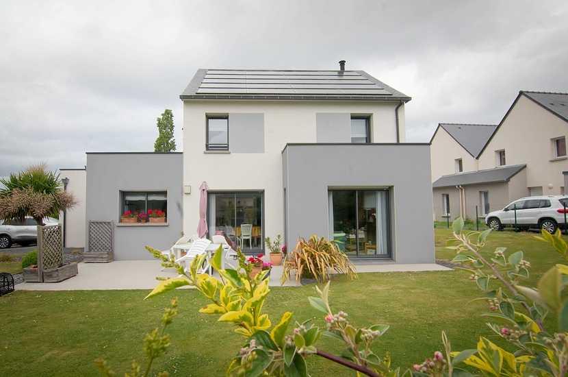 Construction d''une maison à énergie positive / Pléneuf-Val-André (22) dsc4749