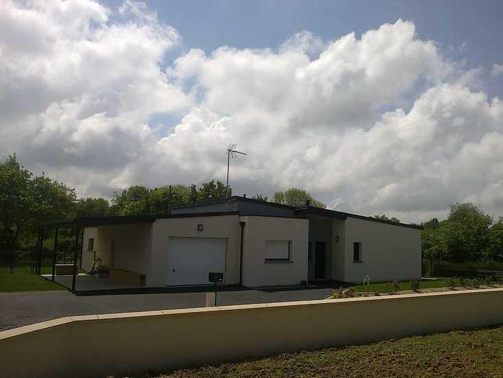MAISON SENIOR - DESIGN - PLAIN PIED facade-1-maison-senior-2