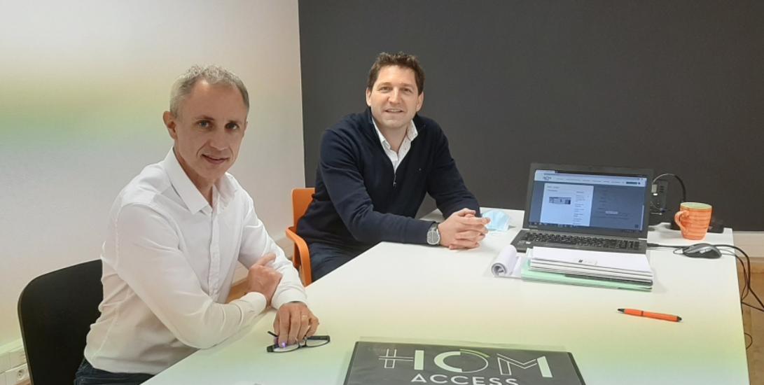 Signature du partenariat entre CLG Constructions et Hom Access 0