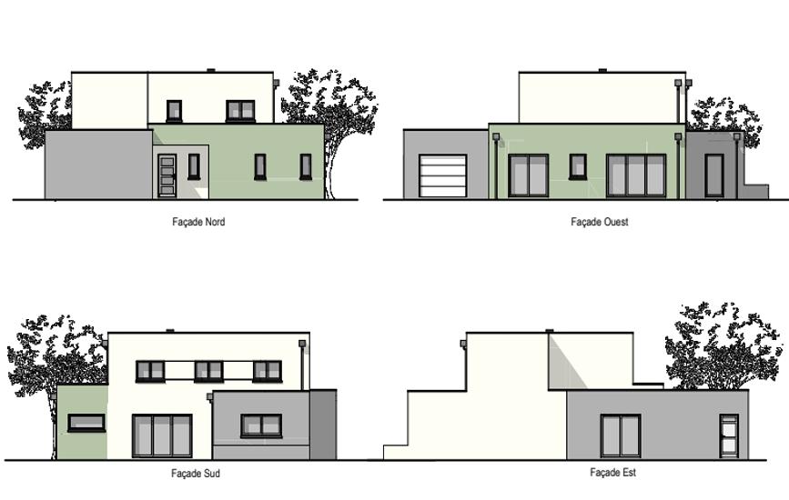 Maison 133 m² - contemporaine avec étage - Lamballe 0