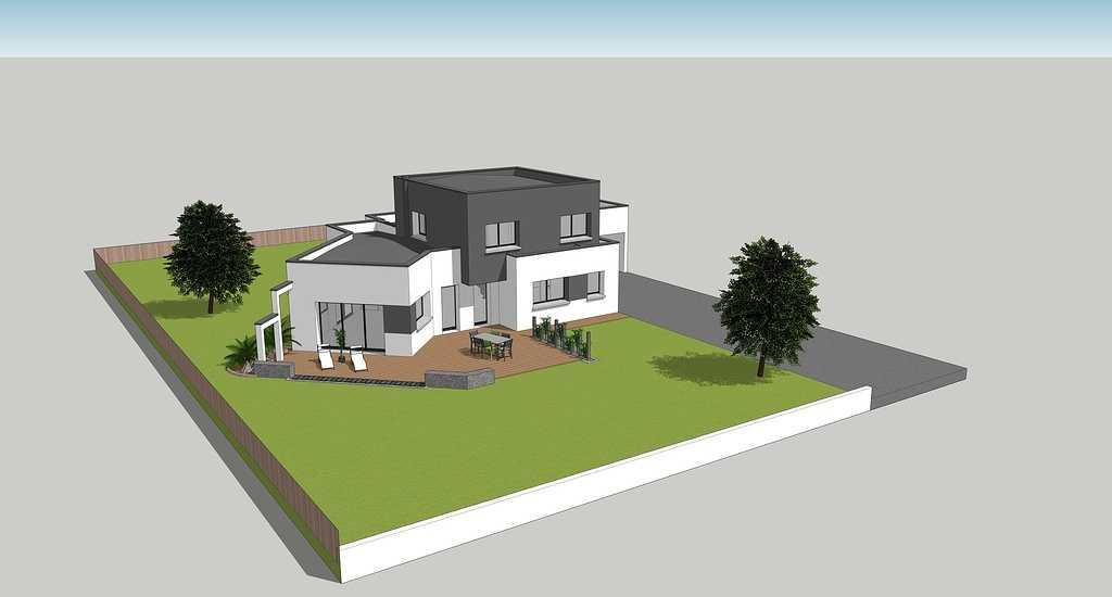 Maison contemporaine toits plats - 150 m² - Erquy 0