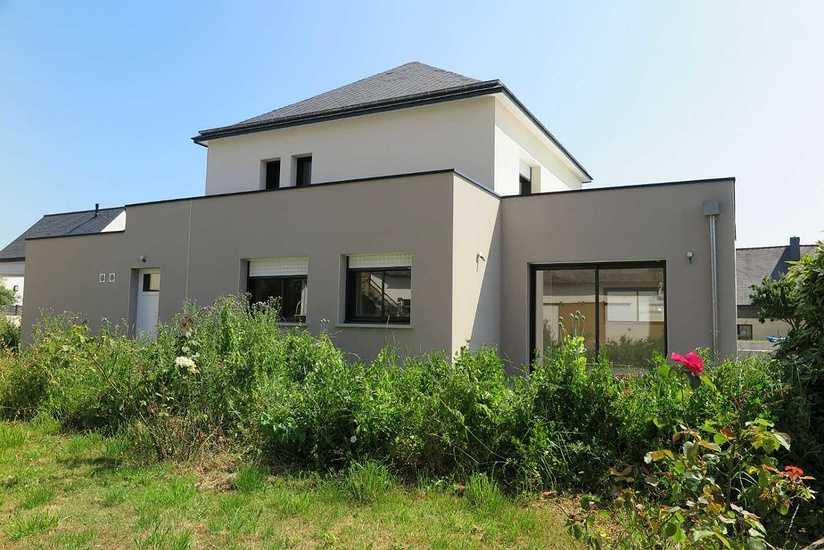 MAISON CONTEMPORAINE • 2 NIVEAUX maison-contemporaine-saint-brieuc-ext-2