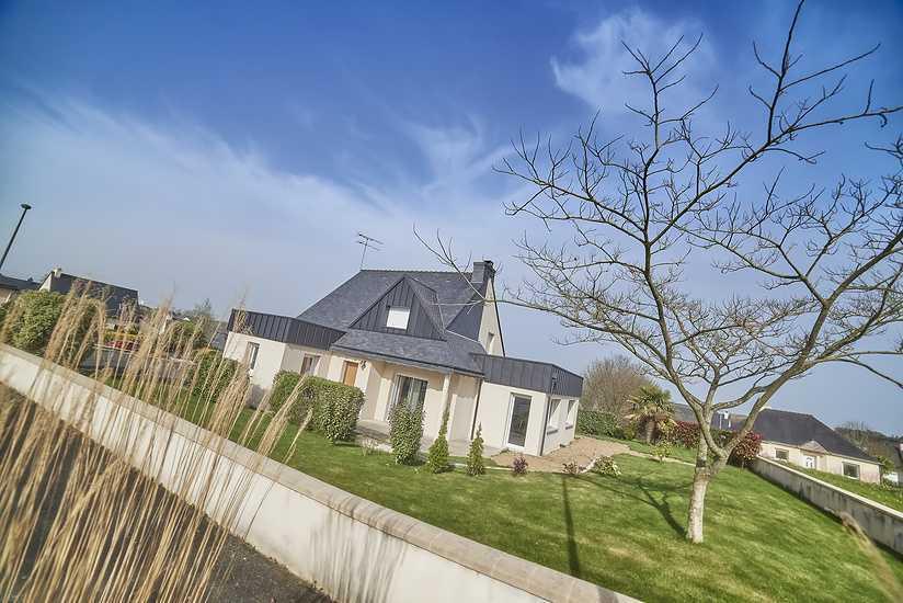 Reportage photos : extension maison contemporaine - Plaintel dsc5213