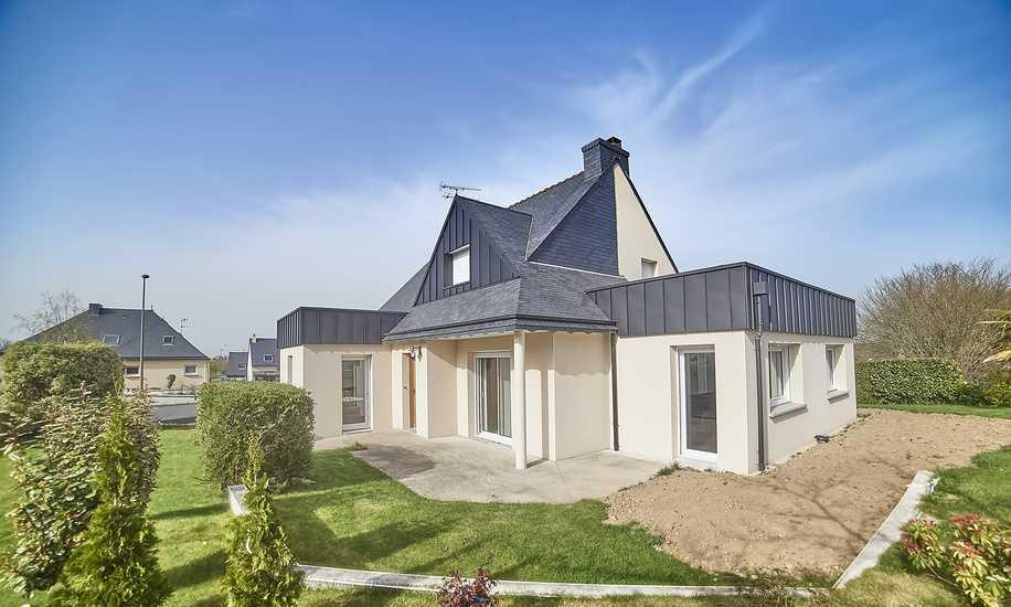 Reportage photos : extension maison contemporaine - Plaintel dsc5217