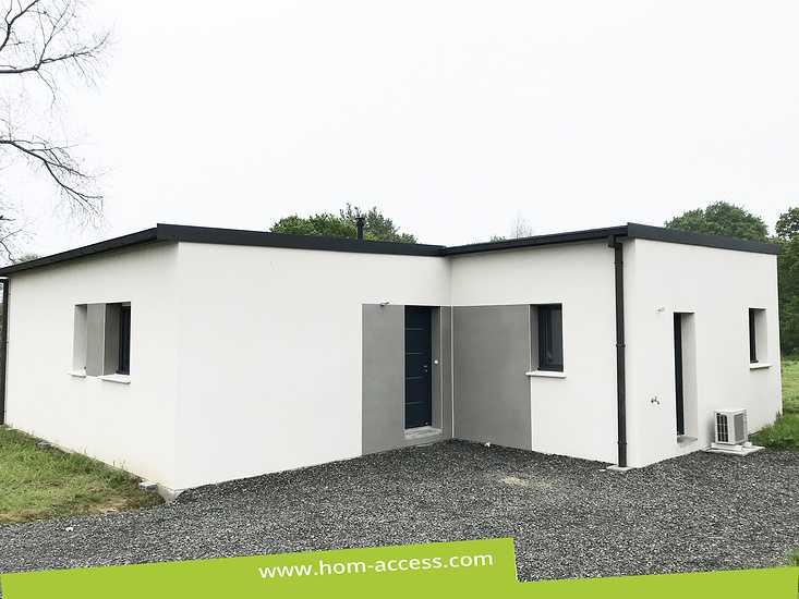 Maison SWEET - 3 chambres - 80 m² - toit mono-pente 0