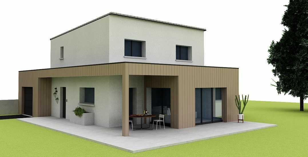 Plans maison 139 m² -4 chambres - Plédehel 0