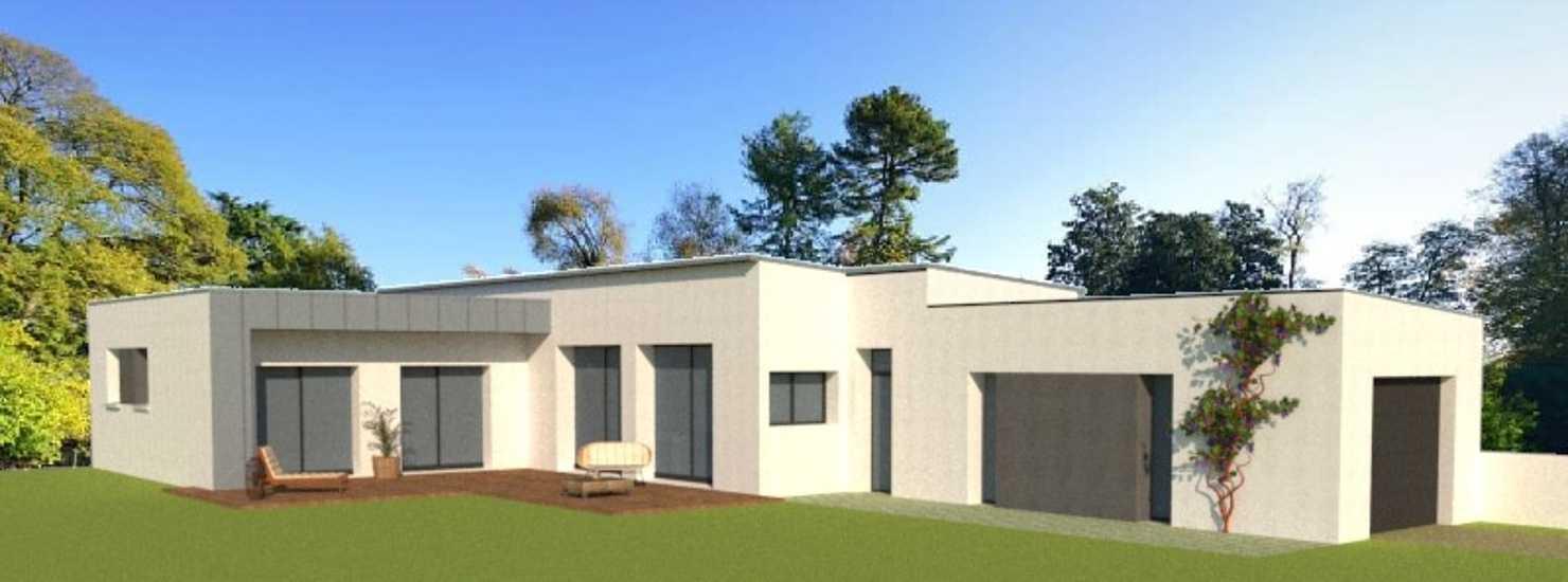 Plans projet maison 130 m²- 3 chambres- accessibilité PMR - Paimpol 0