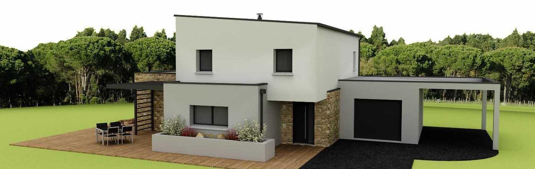 Maison contemporaine - 143 m2 - Rostrenen captured'ecran2021-04-081202041