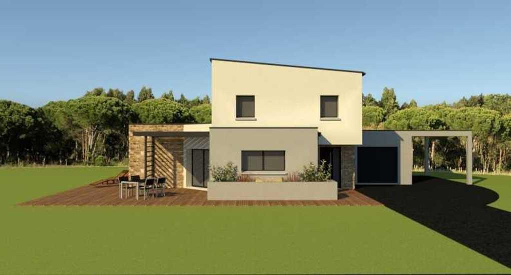 Maison contemporaine - 143 m2 - Rostrenen captured'ecran2021-05-05101951