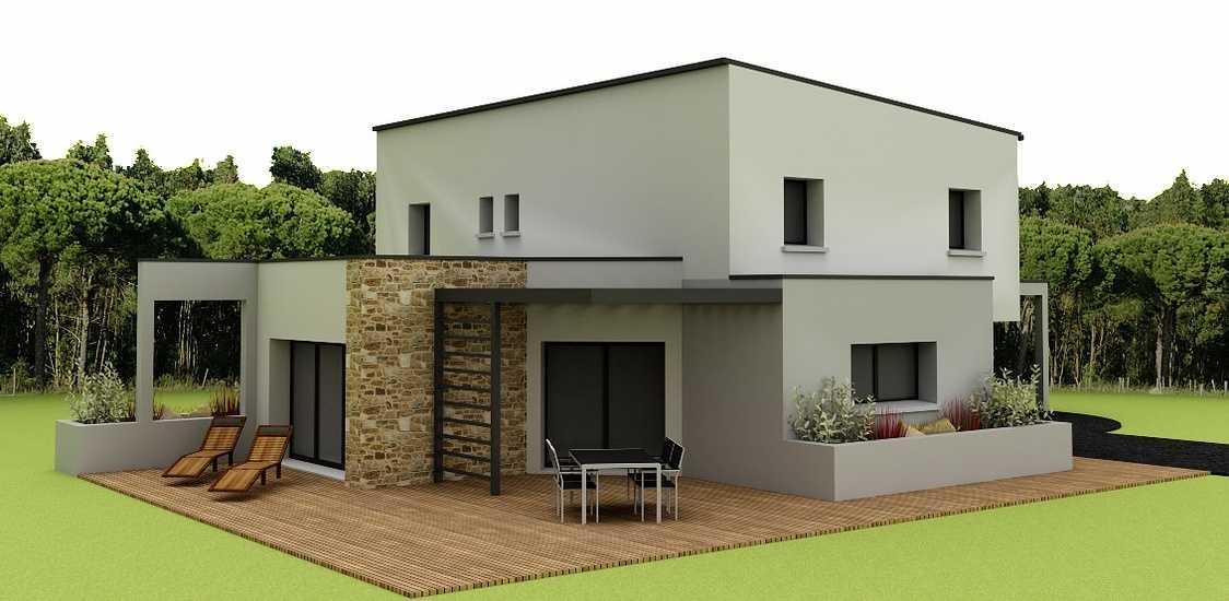Maison contemporaine - 143 m2 - Rostrenen 0