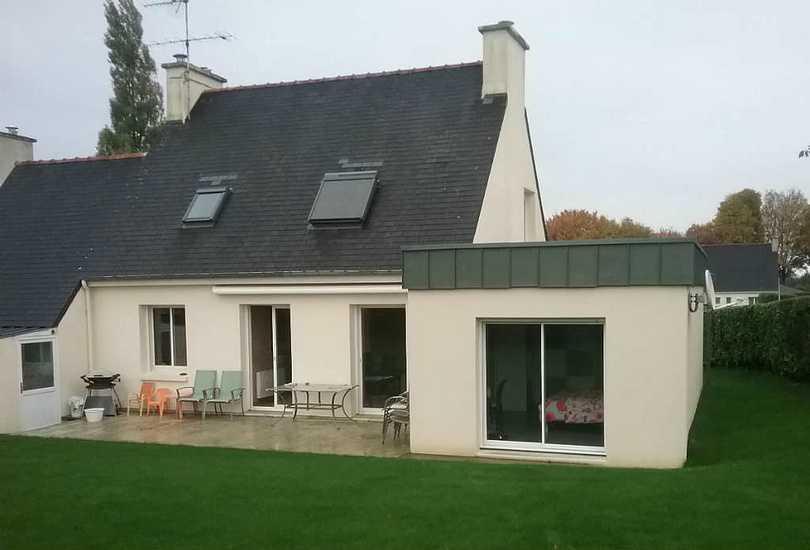 Extension maison : création chambre et salle d\'eau - 25 m²