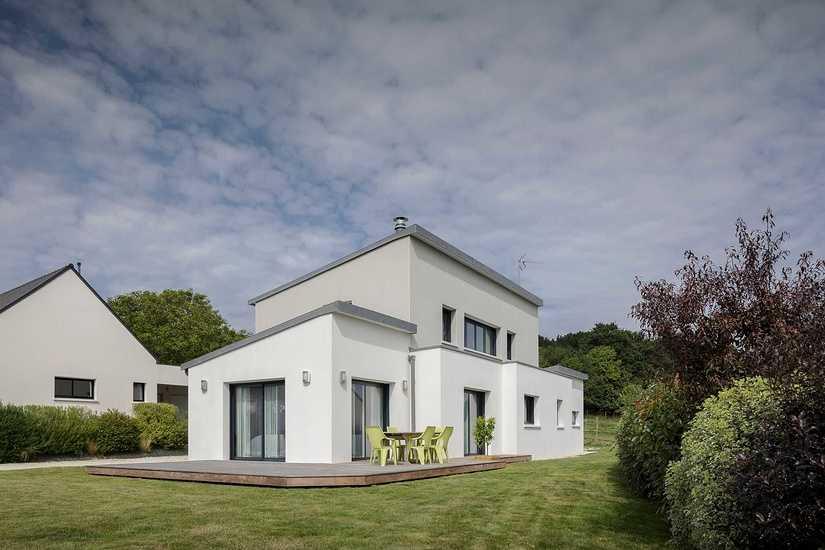 Maison contemporaine • 2 niveaux- Plédran clgfredericbaron-46preview