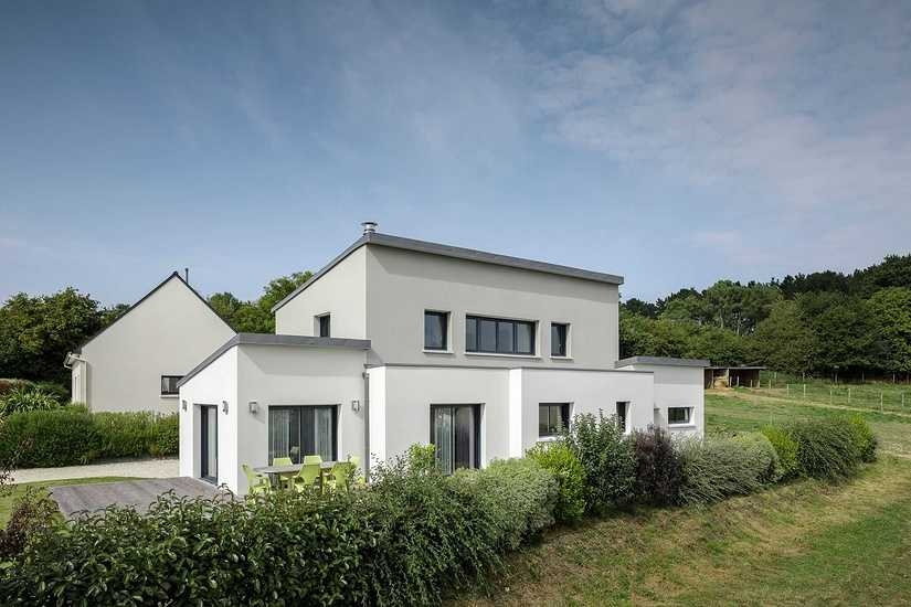 Maison contemporaine • 2 niveaux- Plédran clgfredericbaron-47preview