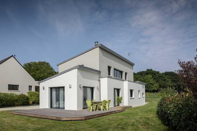 Maison contemporaine • 2 niveaux- Plédran 0