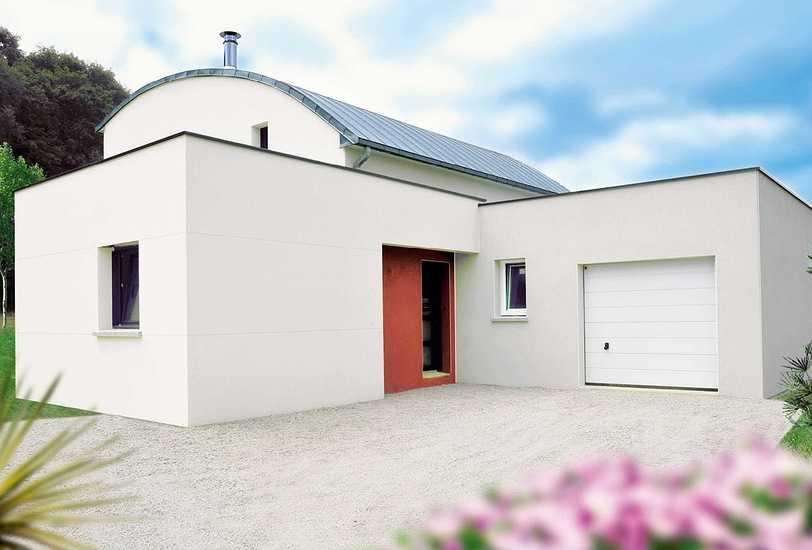 MAISON CONTEMPORAINE • 2 NIVEAUX facade-moderne-5