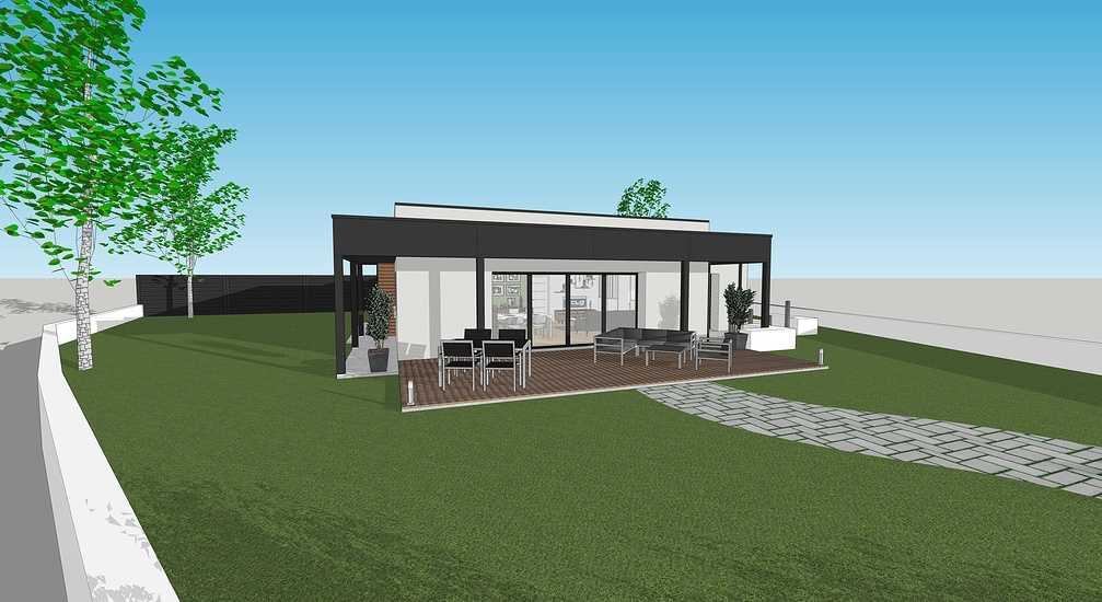 En savoir plus sur les plans / projet de la maison passive - projet Plaintel 2