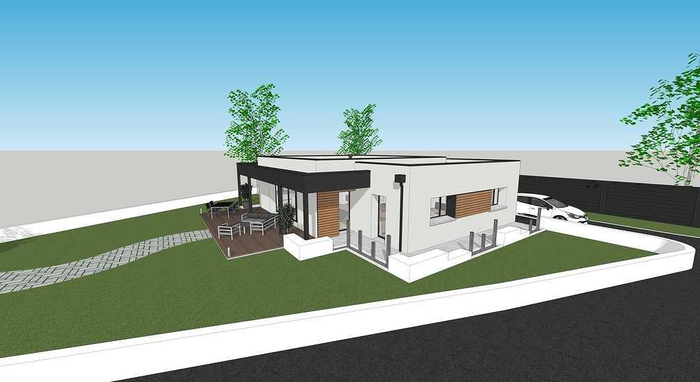 En savoir plus sur les plans / projet de la maison passive - projet Plaintel 3