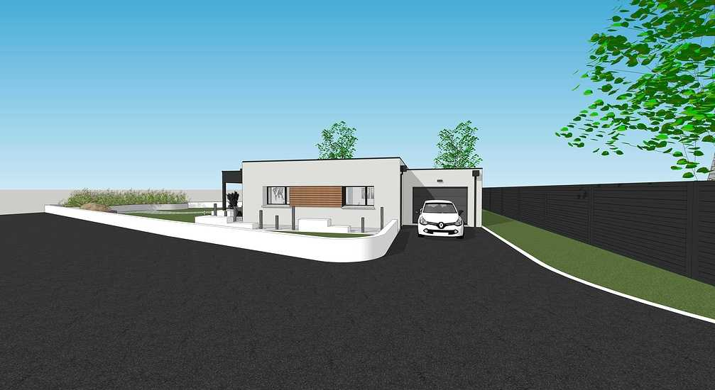 En savoir plus sur les plans / projet de la maison passive - projet Plaintel 4