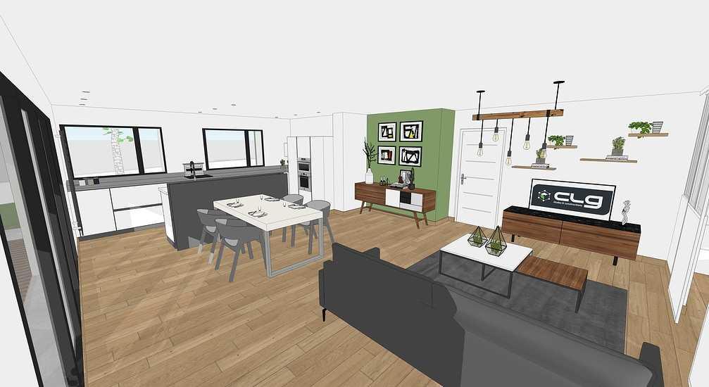 En savoir plus sur les plans / projet de la maison passive - projet Plaintel 5
