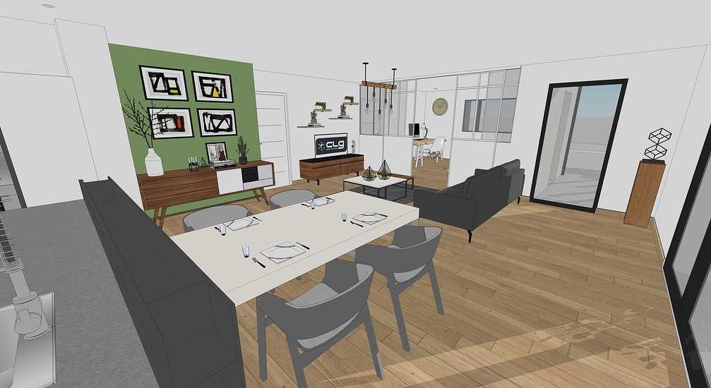 En savoir plus sur les plans / projet de la maison passive - projet Plaintel 7
