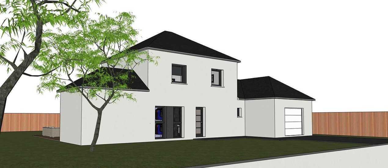 Maison contemporaine - Tremeven (22) 3letroadeclizelechtremeven
