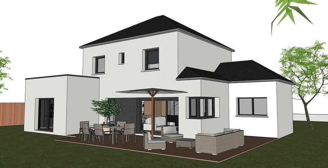 Maison contemporaine - Tremeven (22) 0
