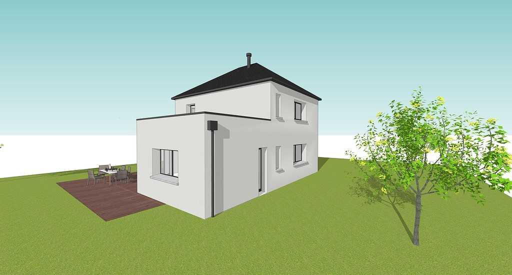 Maison contemporaine-Louargat 4mahecuziatquartiersaintpaullouargat
