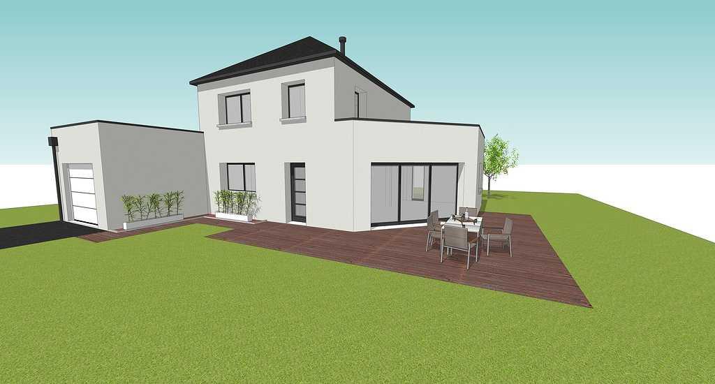 Maison contemporaine-Louargat 0