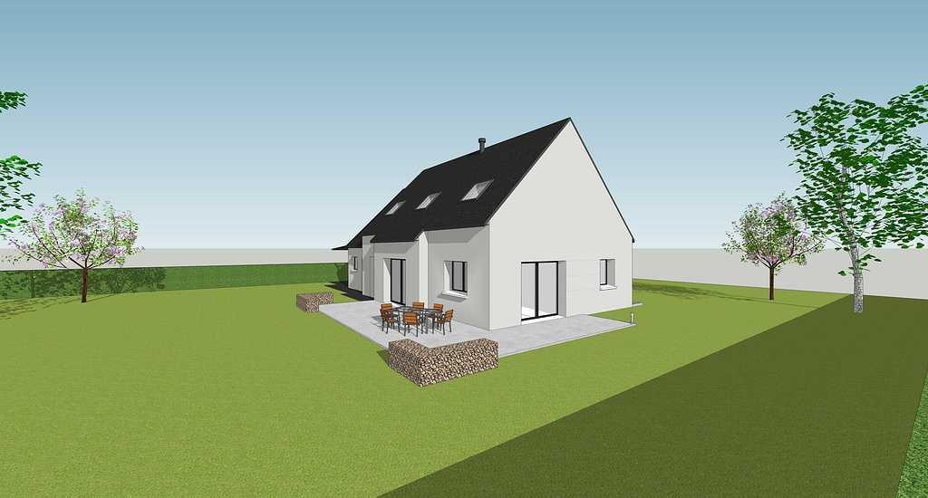 Maison contemporaine - Pordic 3quemenerdomeonruebelairpordic