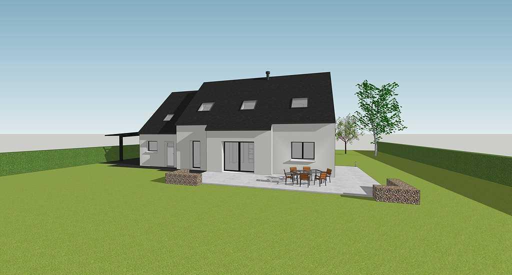 Maison contemporaine - Pordic 4quemenerdomeonruebelairpordic