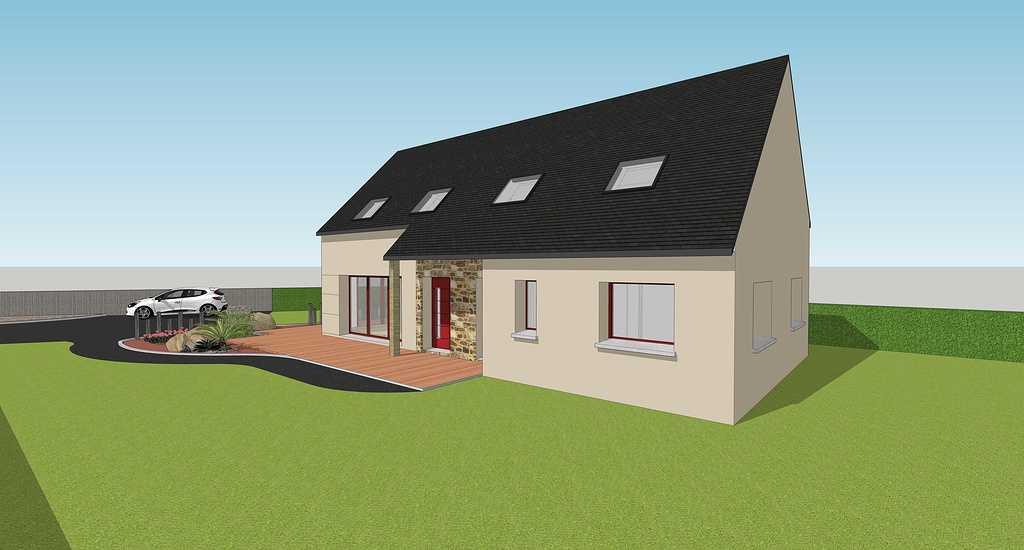 Maison design - Rostronen 3doisneandreruedekerlanrostrenen