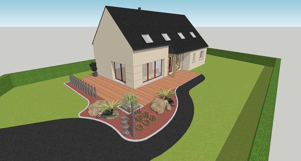 Maison design - Rostronen 4doisneandreruedekerlanrostrenen