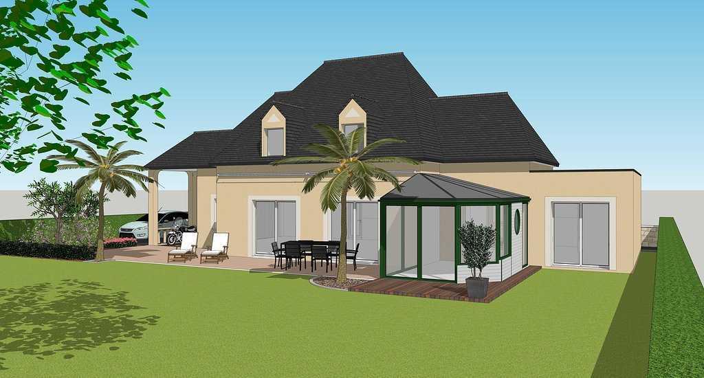 Extension maison : chambre et salle de bain - 24 m2 visuel1
